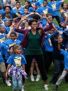 Coffee Talk: Michelle Obama Breaks World Record for Jumping Jacks