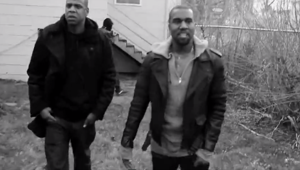 Must-See: Kanye West Visits His Old Home in Chicago with Jay-Z