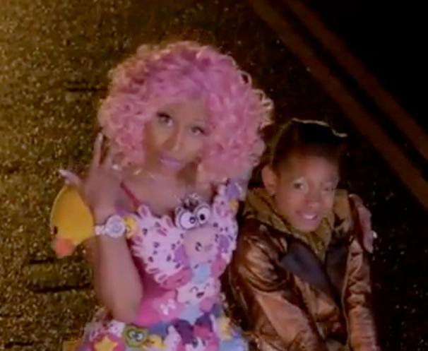 Must-See: Willow Smith's 'Fireball' Video ft. Nicki Minaj