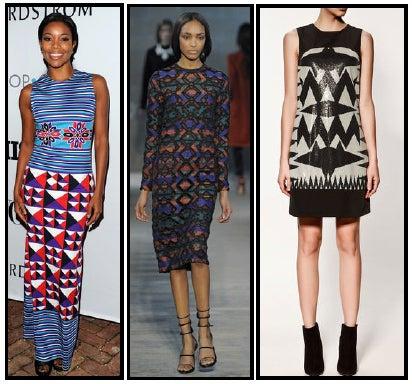 Celeb Style: Pretty Patterns and Prints