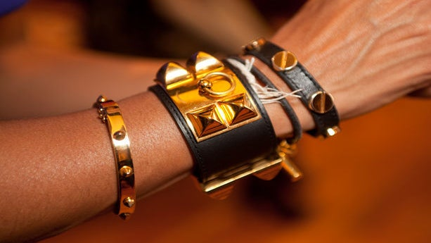 Accessories, Street Style: Touches of Leather