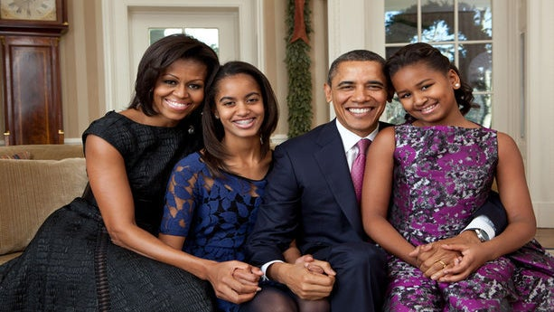 Celebrate Christmas with the Obamas