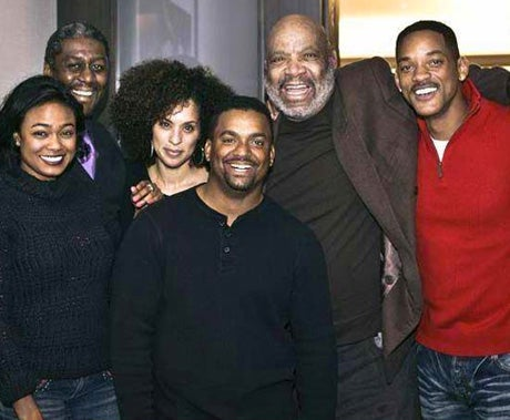 Will Smith Reunites with 'Fresh Prince of Bel-Air' Cast