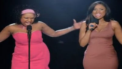 Must-See: Jennifer Hudson Duets with Former Self in Weight Watchers Ad