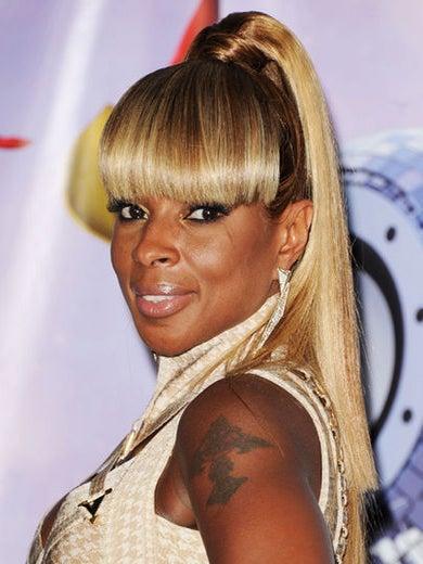 2011: Mary J. Blige's Golden Hot Hair