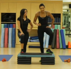 Must-See: Celebrity Trainer Jade Alexis Works Out with Rocsi Diaz