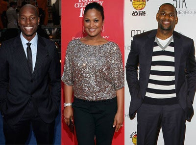 Happy Birthday, Tyrese, Laila Ali, and LeBron James!