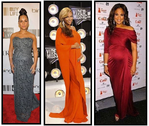 Celeb Style: Maternity Chic