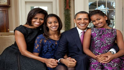 First Family Spends New Year's in Hawaii, Obama Sends 2012 Greetings
