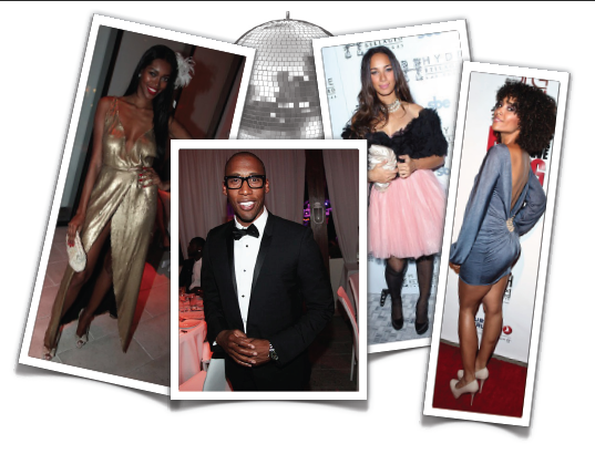 What They Wore: New Year's Eve