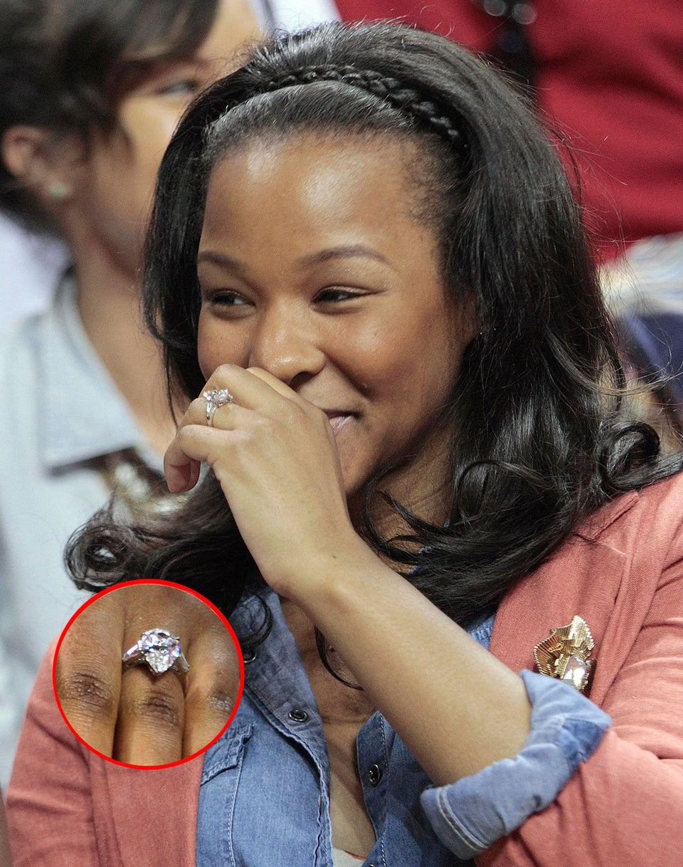 See LeBron James's Engagement Ring for Savannah Brinson