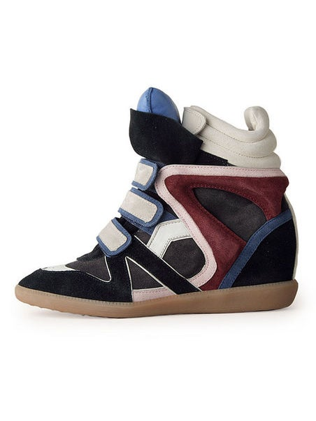 The Now: Wedge Sneakers