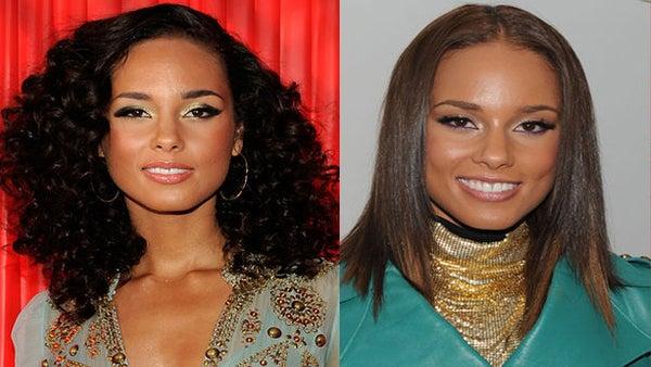 Hot Hair: Curly vs. Straight