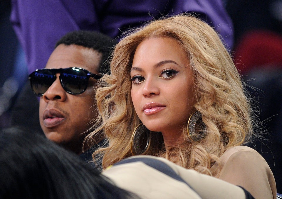Beyonce and Jay-Z Take Baby Blue Ivy Home