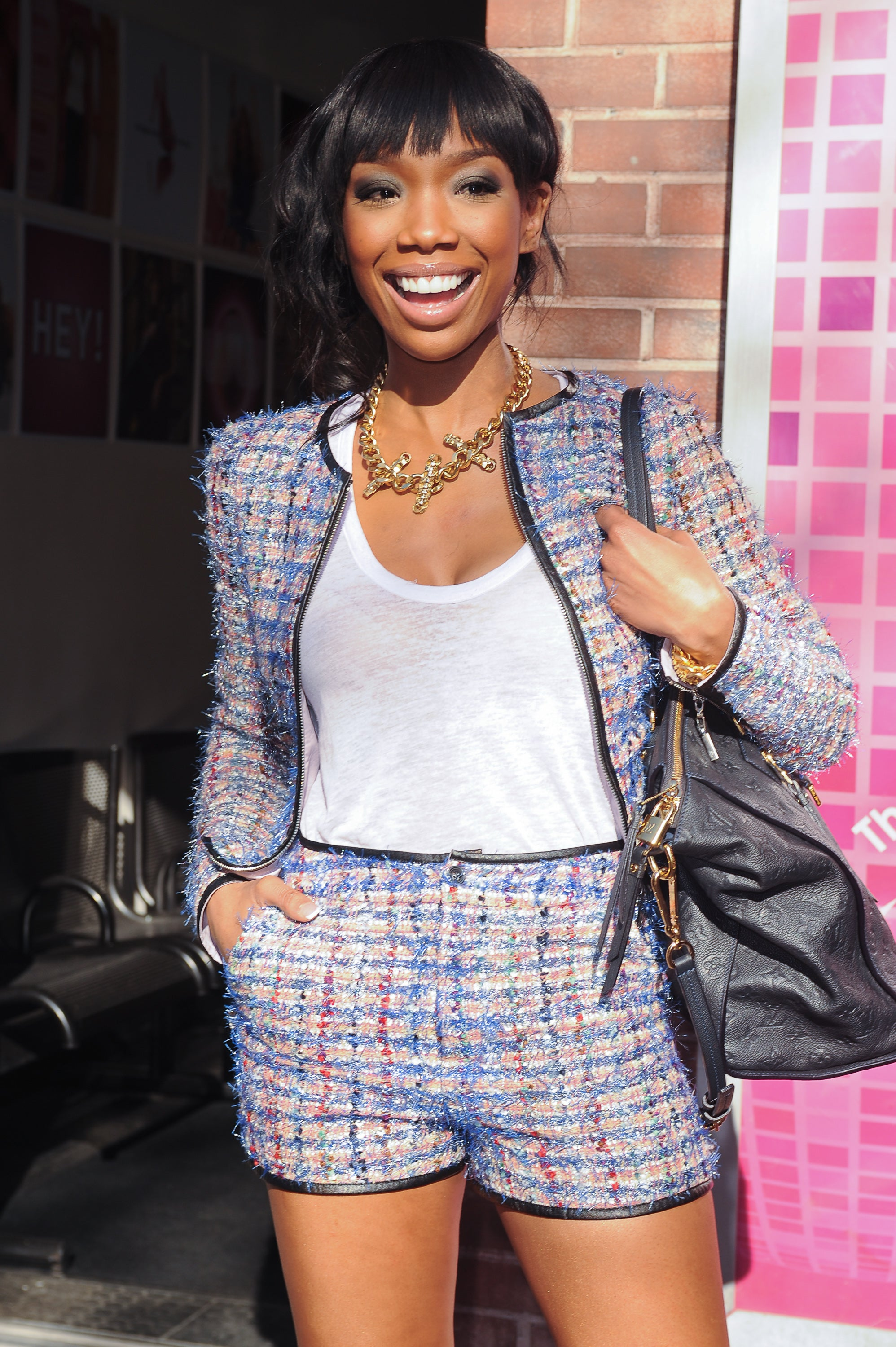 Brandy Calls Her 'Game' Character, 'That Hood Chick'