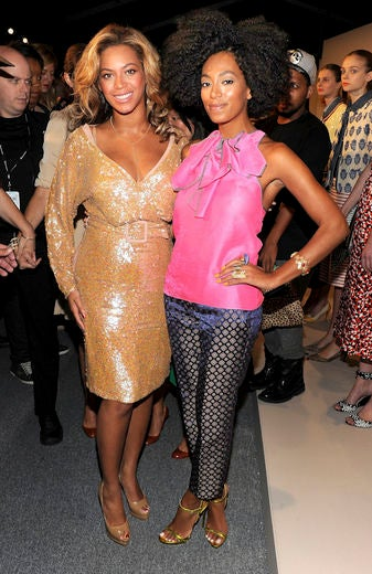 Solange Defends Beyonce and Blue on Twitter
