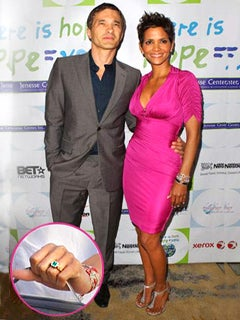 Are Halle Berry and Olivier Martinez Really Engaged?