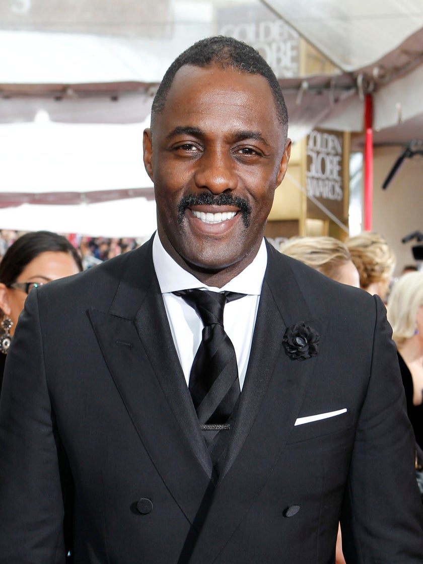Idris Elba Wins Best Actor Golden Globe for 'Luther'
