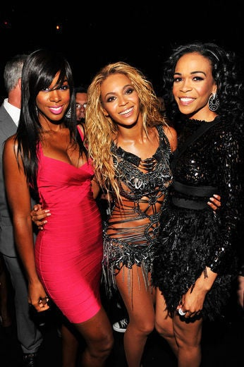 Exclusive: Kelly Rowland and Michelle Williams Gush Over Baby Blue Ivy Carter