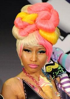 Hairstyle File: Nicki Minaj's Most Outrageous Hairstyles