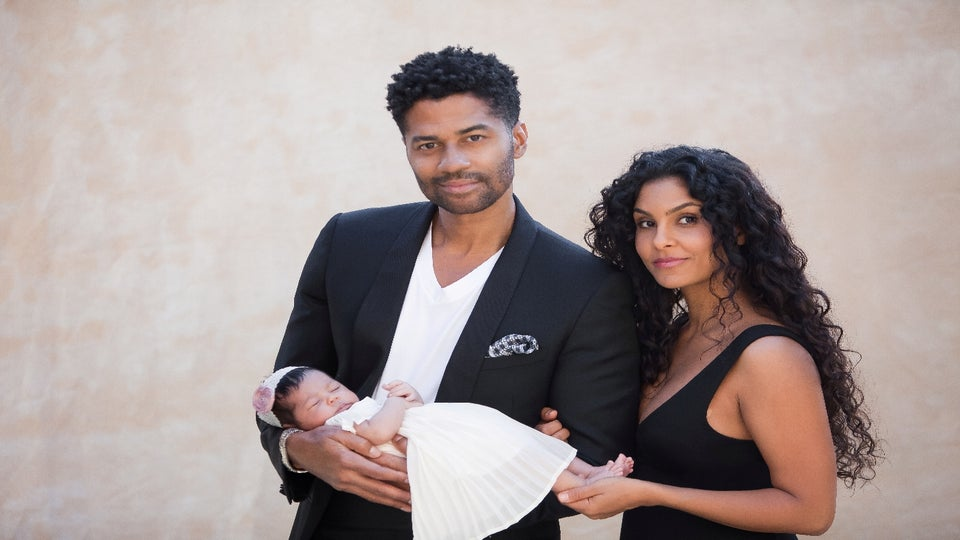 Eric Benet Reveals First Photo of Daughter, Lucia Bella