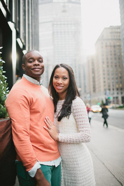 Just Engaged: Jade and Chris