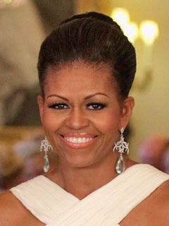 Hot Hair: Michelle Obama's Most Glamourous Updos