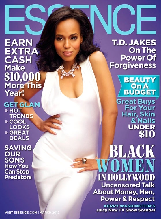 Kerry Washington Covers the March Issue of ESSENCE