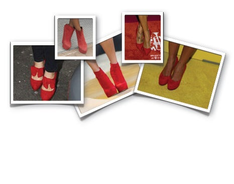 Lust List: Sexy Red Shoes
