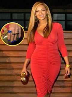 Go There Thursdays: Beyonce Honors Daughter with Blue Nail Polish
