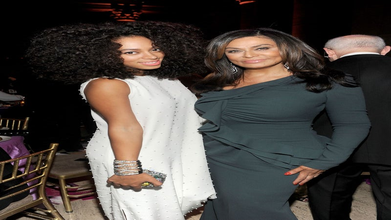 Exclusive: Solange and Tina Knowles Show Their Support for President Obama