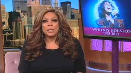 Must-See: Wendy Williams Gets Emotional Over Whitney Houston's Death