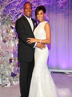 Holly Robinson Peete and Rodney Peete Renew Vows at Empire State Building