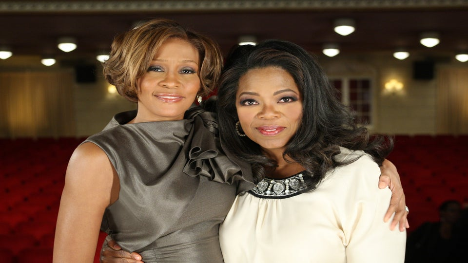 Oprah Invited to Whitney Houston's Funeral