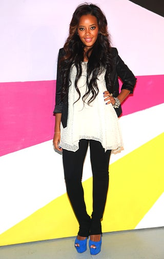 NYFW Girl About Town: Angela Simmons