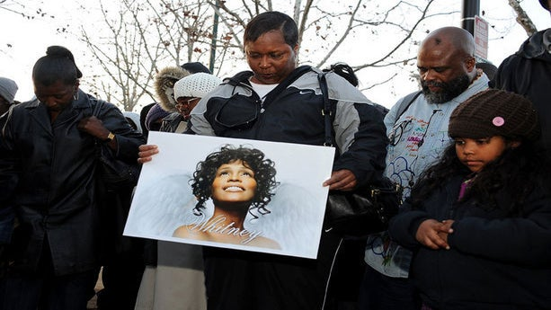 How Fans Are Mourning Whitney Houston