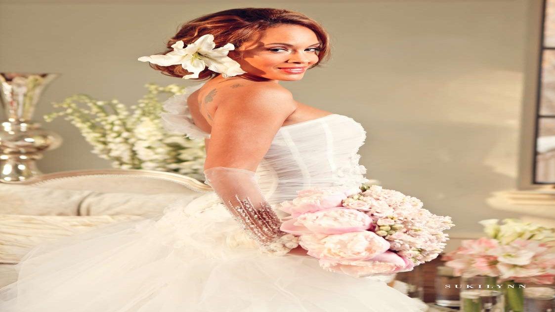 Exclusive: Evelyn Lozada's Sexy Bridal Shoot