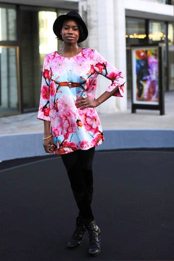 Model Diary: Tolula Adeyemi