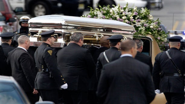 Whitney Houston Is Buried Next to Father