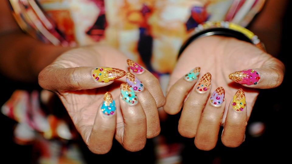 NYFW Fall 2012: Statement Nails