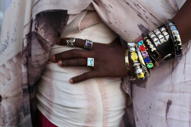 Accessories Street Style: Layered Love
