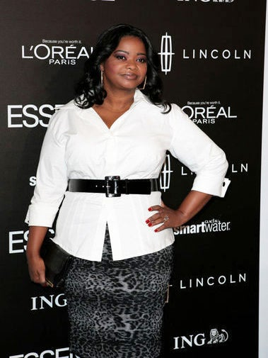 Octavia Spencer Talks Spanx and Sharing a Trainer with Paula Patton