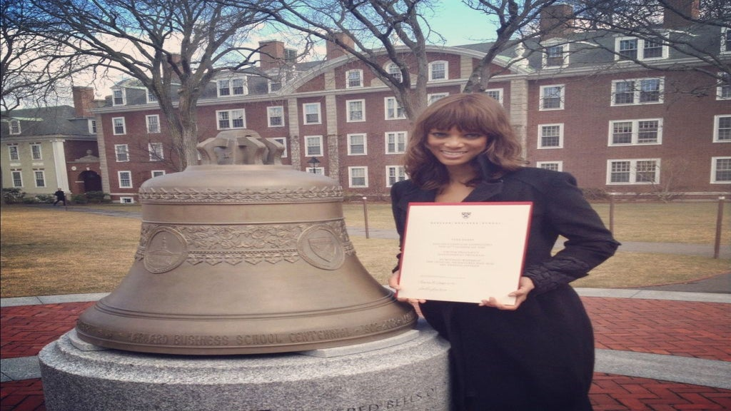 Tyra Banks Graduates from Harvard Business School