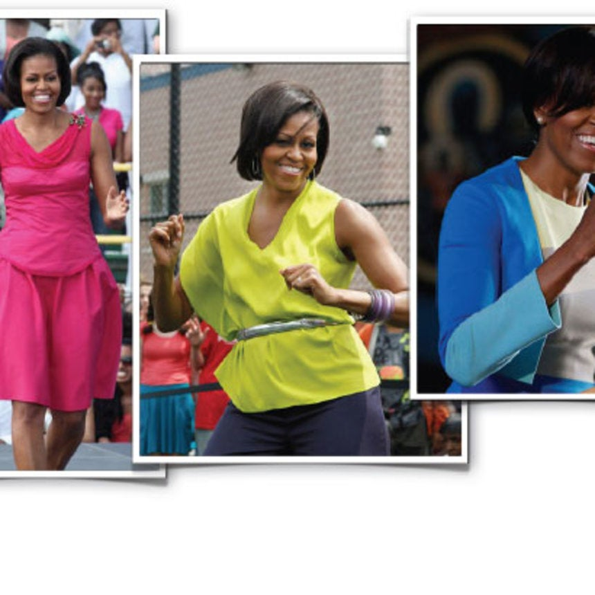 First Lady Style: Bold Brights