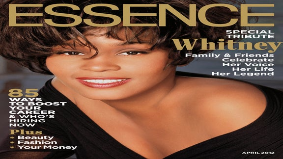Whitney Houston Graces the April Issue of ESSENCE
