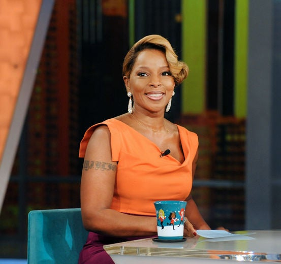 Mary J. Blige Talks Whitney Houston and Overcoming Drugs on 'The View'