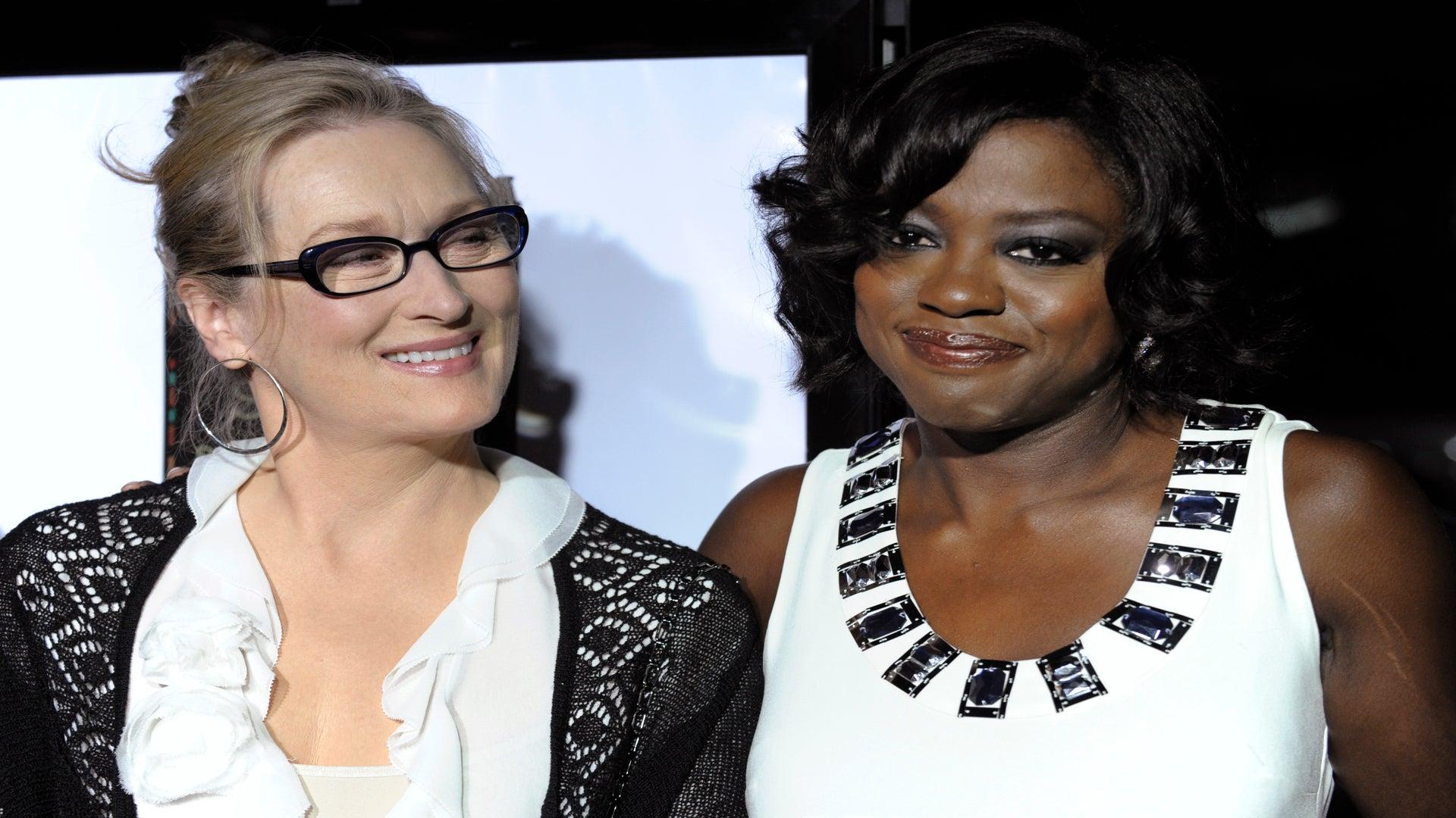 Meryl Streep Donates $10K to School in Viola Davis' Honor