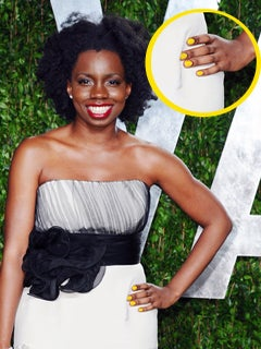 Go There Thursdays: Adepero Oduye's Sunny Yellow Nails