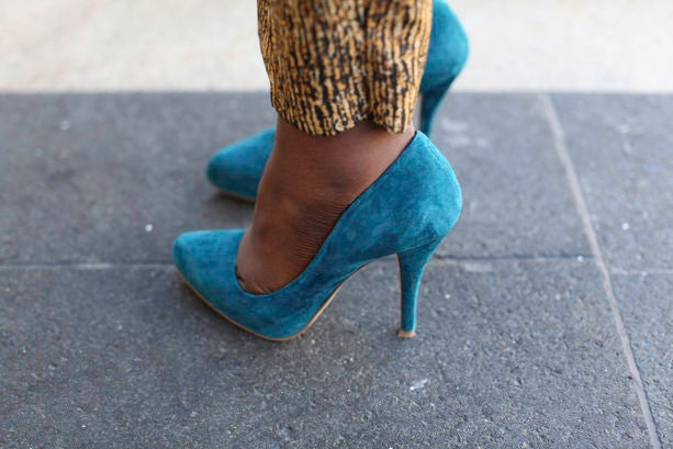 Accessories Street Style: Candy-Colored Pumps
