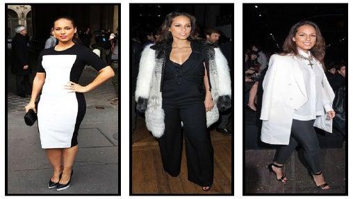 Look For Less: Alicia Keys' Parisian Chic